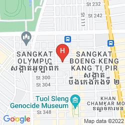 Mappa ST. 288 HOTEL APARTMENT & HOTEL SERVICE