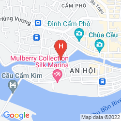 Mappa RIVER SUITES HOI AN HOTEL
