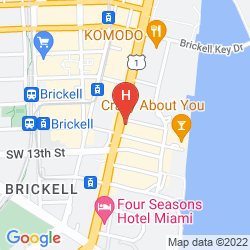 Mappa JW MARRIOTT HOTEL MIAMI