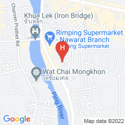Mappa ZZ HOUSE CHIANG MAI