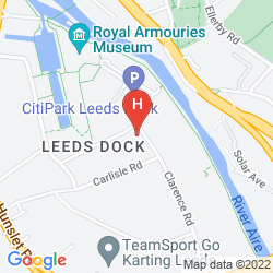 Mappa HOLIDAY INN EXPRESS LEEDS CITY CENTRE - ARMOURIES