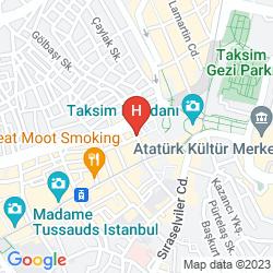 Mappa IQ HOUSES APARTMENTS KURABIYE