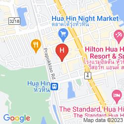 Mappa SAY CHEESE GUESTHOUSE HUA HIN