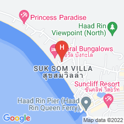 Mappa CORAL BUNGALOWS