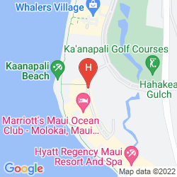 Mappa MARRIOTT'S MAUI OCEAN CLUB - MOLOKAI, MAUI & LANAI TOWERS