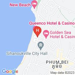 Mappa QUEENCO HOTEL & CASINO