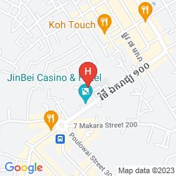 Mappa SUNDAY GUESTHOUSE