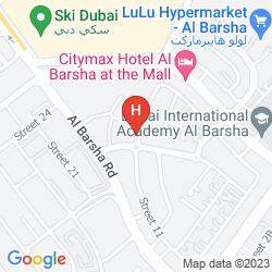 Mappa ARABIAN GULF HOTEL APARTMENTS AL BARSHA
