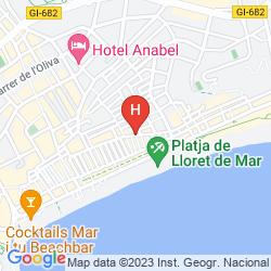 Mappa HOSTAL VILA DEL MAR