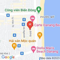Mappa DA NANG PORT