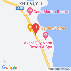 Mappa AVANI QUY NHON RESORT & SPA