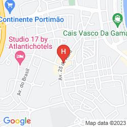 Mappa TIVOLI ARADE (SUITE)