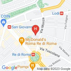 Mappa NASONI DI ROMA BED & BREAKFAST