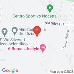 Mappa A.ROMA LIFESTYLE