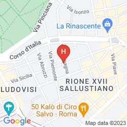 Mappa KING ROME CENTER