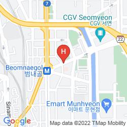 Mappa 25 HOURS HOTEL