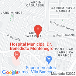 Mappa BRASTON AUGUSTA