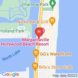 Mappa MARGARITAVILLE HOLLYWOOD BEACH RESORT