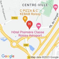 Mappa CAMPANILE ROISSY-EN-FRANCE