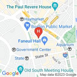 Mappa THE BOSTONIAN BOSTON - MILLENNIUM