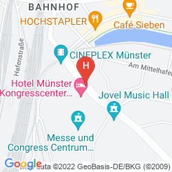Mappa TRYP MÜNSTER KONGRESSHOTEL