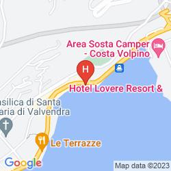 Mappa LOVERE RESORT & SPA