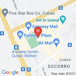 Mappa HOTEL NOVOTEL MANILA ARANETA CENTER