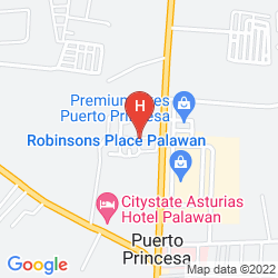 Mappa AMERSON PENSION PLACE