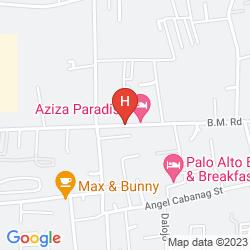 Mappa AZIZA PARADISE HOTEL