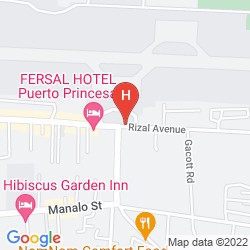 Mappa FERSAL HOTEL PUERTO PRINCESA