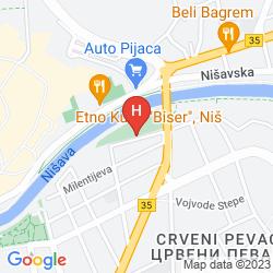 Mappa BEST WESTERN HOTEL MY PLACE
