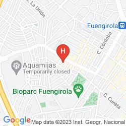 Mappa MONARQUE FUENGIROLA PARK