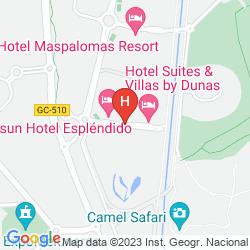 Mappa SUITES & VILLAS BY DUNAS