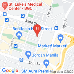 Mappa SEDA BONIFACIO GLOBAL CITY