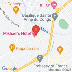 Mappa MIKHAEL'S HOTEL