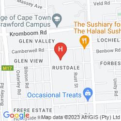 Mappa PRESIDENT HOTEL
