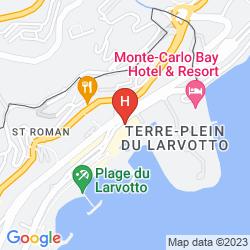 Mappa LE MERIDIEN BEACH PLAZA