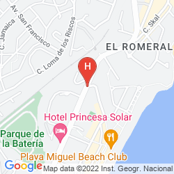 Mappa PALIA LAS PALOMAS