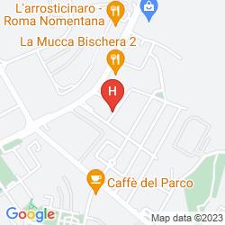 Mappa AURORA GARDEN