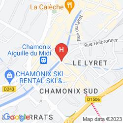 Mappa BOUTIQUE HOTEL LE MORGANE