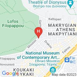 Mappa ACROPOLIS HILL