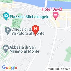 Mappa VILLA LA VEDETTA