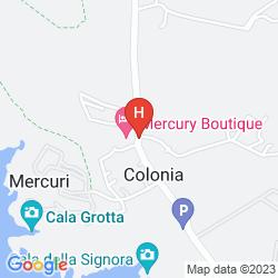 Mappa MERCURY BOUTIQUE HOTEL