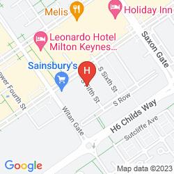 Mappa CITY STAY APARTMENTS - VIZION