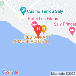 Mappa PALM BEACH HOTEL