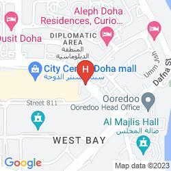 Mappa SHANGRI-LA HOTEL, DOHA