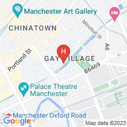 Mappa LE VILLE HOTEL