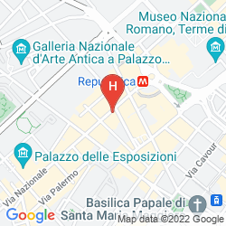 Mappa NAZIONAL ROOMS