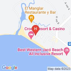 Mappa CROC'S CASINO RESORT