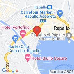 Mappa BEST WESTERN TIGULLIO ROYAL